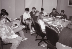 An early YAAC meeting, at the Central Library. 1990's.