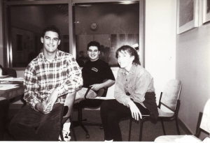 YAAC members in the Central Library Conferene Room. 1990's.