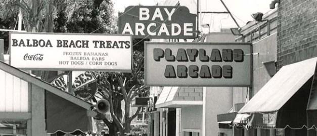 Balboa Peninsula arcade
